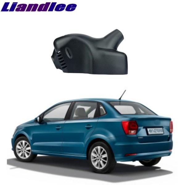 Liandlee For Volkswagen Ameo 2017 2018 Car Road Record WiFi DVR Dash Camera Driving Video Recorder