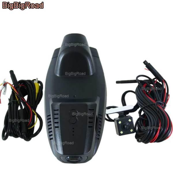 BigBigRoad For Ford Escape Kuga 2013-2017 Car wifi DVR Video Recorder Novatek 96655 dash cam Dual Cameras