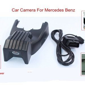 PLUSOBD Dash Cam HD Car DVR Auto Camera For Mercedes Benz A W176 2013-15 Night Vision Cycle Recording 170 Degree WDR With APP