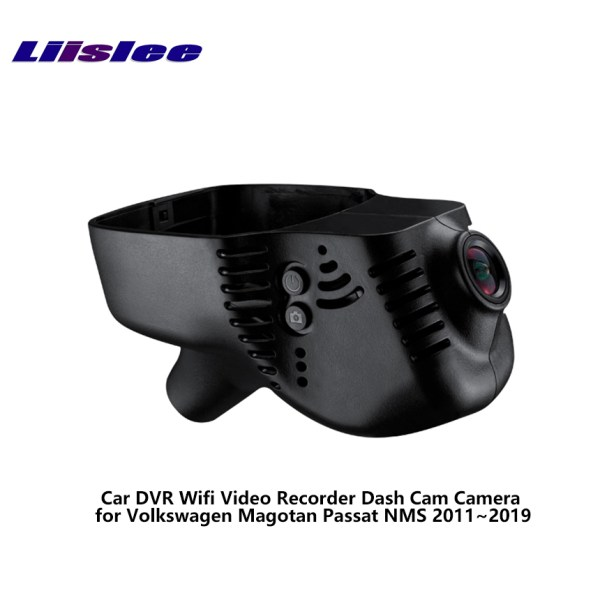 LiisLee Car DVR Wifi Video Recorder Dash Cam Camera for Volkswagen Magotan Passat NMS 2011~2019 Night Vision APP Control Mobile