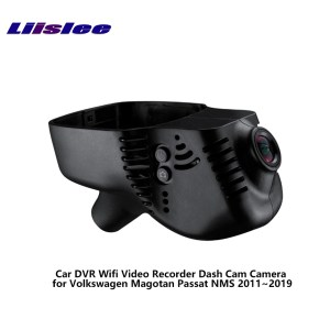 LiisLee Car DVR Wifi Video Recorder Dash Cam Camera for Volkswagen Magotan Passat NMS 2011~2019 Night Vision APP Control Mobile