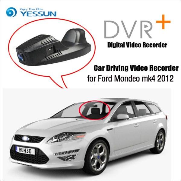 For Ford Mondeo mk4 2012 Car Mini DVR Driving Video Recorder Control APP Wifi Camera / Registrator Dash Cam Original Style