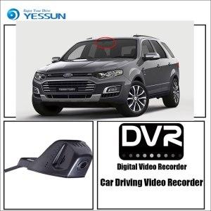YESSUN for Ford Territory Car Driving Video Recorder DVR Mini Control APP Wifi Camera Registrator Dash Cam Original Style