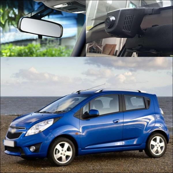 BigBigRoad For Chevrolet Spark car Wifi DVR Video Recorder Novatek 96658 G-sensor WDR Car Parking Camera dash cam