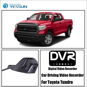 YESSUN Front Camera Dash Car DVR Digital Video Recorder for Toyota Tundra HD 1080P Not Reverse Parking Camera