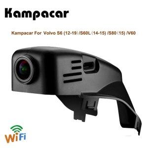 Kampacar Video Recorder Car Wifi DVR For Volvo S60 2012 2013 S60L 2014 V60 S80 S80L 2015 XC70 V60 2016 2017 2018 2019 Dash Cam