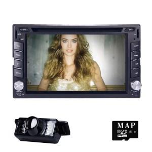 2Din Car Radio DVD Player For Nissan GPS Navigation In dash Stereo Head Unit video subwoofer BT MirrorLink DAB+RDS CAM MAP DVBT