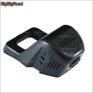 BigBigRoad Car wifi DVR Video Recorder Hidden installation Dash Cam Novatek 96658 FHD 1080P For NISSAN Tiida