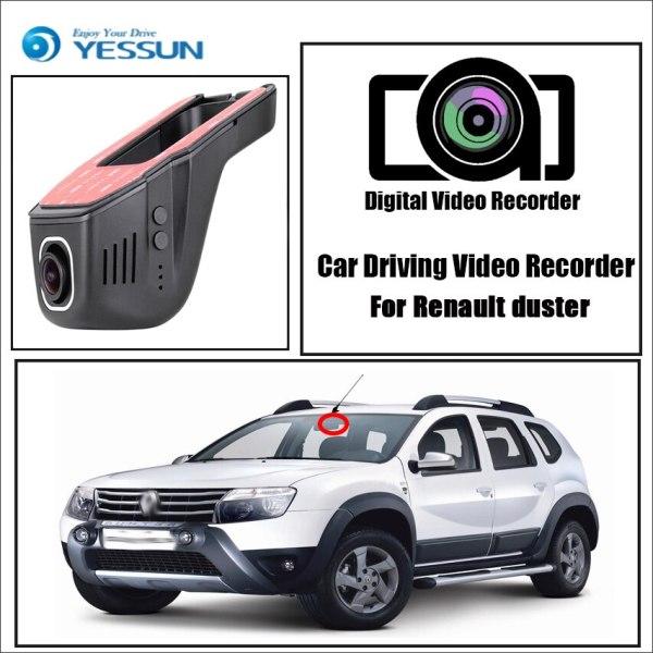YESSUN for Renault duster Car Driving Video Recorder Wifi DVR Mini Camera Box Novatek 96658 FHD 1080P Dash Cam Night Vision