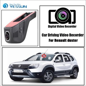 YESSUN for Renault duster Car Driving Video Recorder Wifi DVR Mini Camera Box Novatek 96658 FHD 1080P Dash Cam Night Vision
