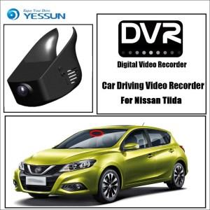 YESSUN for Nissan Tiida Car DVR Mini Wifi Camera Driving Video Recorder Novatek 96658 Registrator Dash Cam Original Style