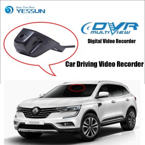 YESSUN for Renault Koleos Car Mini DVR Driving Video Recorder Control APP Wifi Camera Registrator Dash Cam Original Style