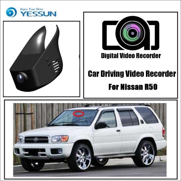 YESSUN for Nissan R50 Car DVR Mini Wifi Camera Driving Video Recorder Novatek 96658 Registrator Dash Cam Original Style