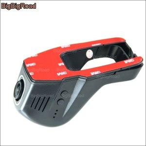 BigBigRoad For Nissan Qashqai Car wifi DVR Driving Video Recorder Novatek 96655 G-sensor dash cam night vision