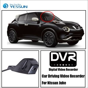 YESSUN For Nissan Juke Car Front Dash Camera CAM For iPhone Android APP Control Function / DVR Driving Video Recorder