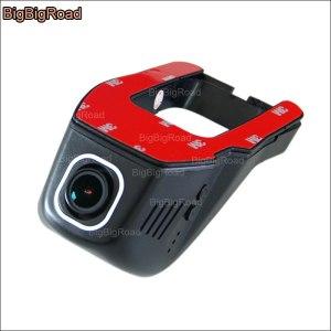 BigBigRoad For Nissan March Car wifi DVR Video Recorder Hidden installation Novatek 96655 FHD 1080P Dash Cam