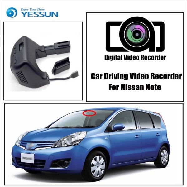 YESSUN for Nissan Note Car Driving Video Recorder Wifi DVR Mini Camera Novatek 96658 FHD 1080P Dash Cam Night Vision