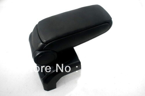 Center Console Armrest Black Leather For Ford Foucs MK2 2004-2010