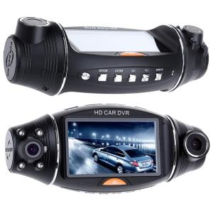 1080P HD Dual Lens 140° Dash Cam GPS Car DVR Video Recorder Camera G-Sensor Night vision Dash Cam Rearview