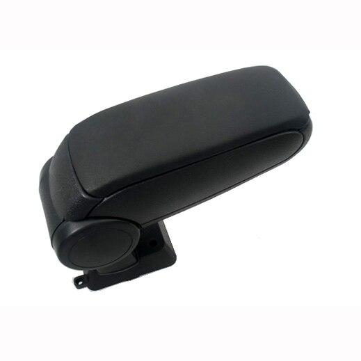 Center Console Armrest (Black Leather) for Nissan Tiida 2004-2012