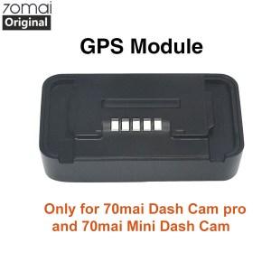 Original 70mai Pro GPS Module for 70 mai Dash Cam Pro 70mai mini Dash gen 2 Cam Car Dvr Pro GPS ADAS function Video Recording