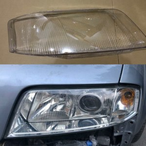 Audi A6 C5 1999-2002 lens Transparent lampshade Headlight cover transparent plastic Lamp protection cover Glass cover