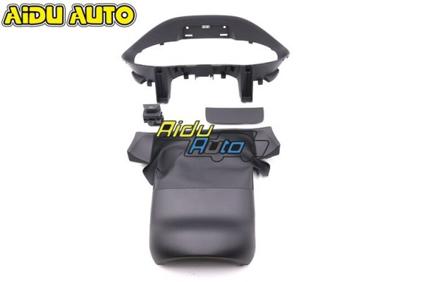 liquid Crystal Virtual Cluster VC Frame LCD Instrument installation Cover KIT For Audi Q2 81A