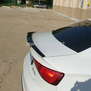 For Audi A3 Spoiler 2012 2013 2014 ABS Plastic Unpainted Color Rear Roof Spoiler Wing Trunk Lip Boot Cover Car Styling