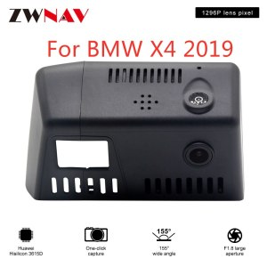 Hidden Type HD Driving recorder dedicated For BMW X4 2019 DVR Dash cam Car front camera WIfi