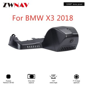 Hidden Type HD Driving recorder dedicated For BMW X3 2018 DVR Dash cam Car front camera WIfi