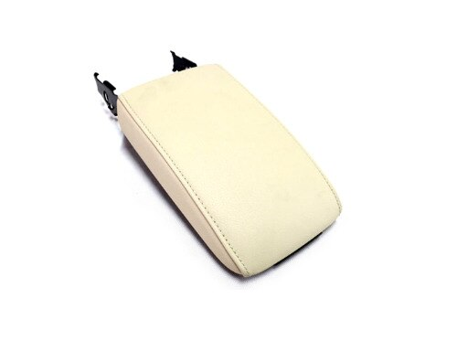 Armrest Console Top Cover (Beige Leather) for Jetta MK6
