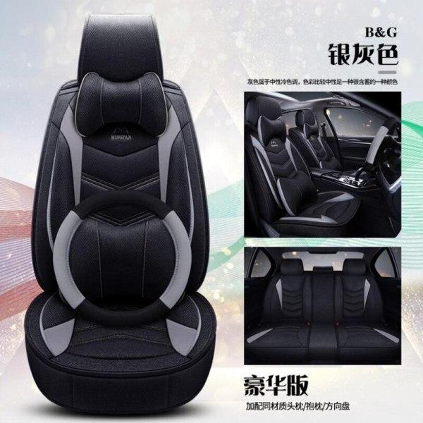 High Quality flax+leather Cartoon auto seat covers for Renault armrest capture clio duster fluence kadjar kaptur koleos latitude