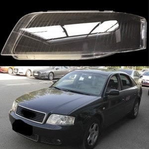 Audi A6 C5 2003-2005 front headlight lens Headlight cover lens protection transparent plastic cover A6 C5 lampshade