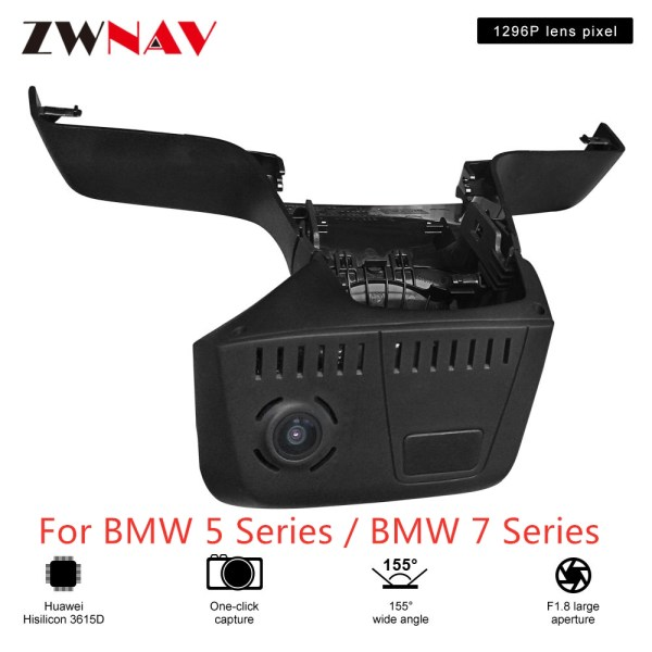 Hidden Type HD Driving recorder dedicated For BMW 5 Series / BMW 7 Series DVR Dash cam Car front camera WIfi