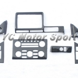 Dry Carbon Fiber RSW Style Interior Trim Kit 7pcs Fit For 2008-2010 R35 GTR RHD Monitor Control Panel Window Switch Cover
