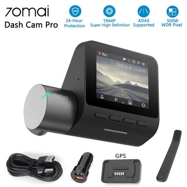 Xiaomi 70mai Pro Dash Cam Car DVR 1944P HD GPS ADAS Camera IMX335 140 Degree FOV Night Vision Voice Control 24H Parking Monitor