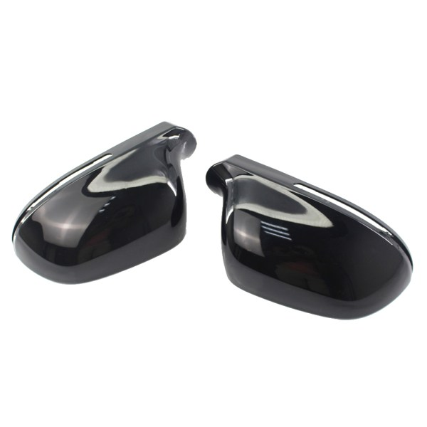 1 Pair Right/Left Side 8T0857527D/8T0857528D Automobile Rearview Mirror Cover Replacement for Audi A4 B8 C6 09-11