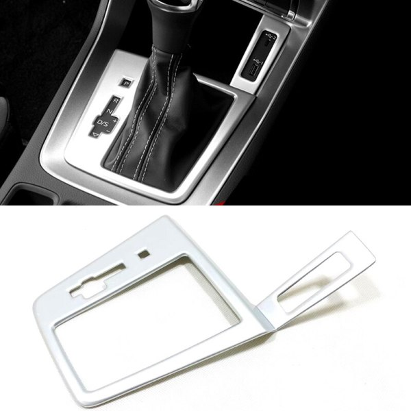 Car Styling Accessories ABS Plastic Inner Gear Frame Cover Trim For Audi Q3 2019 2020 Left Hand Drive