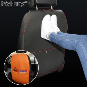 New Leather Car Seat Protective Anti Kick Mat Covers For Child Kick Mat Mud Clean For Car Seats Protection Interior Car Styling