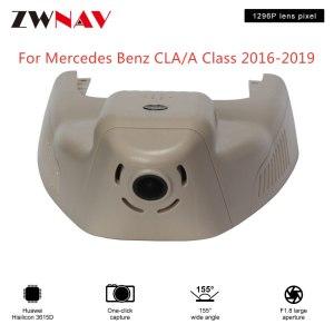 Hidden Type HD Driving recorder dedicated For Mercedes Benz CLA/A Class 2016-2019 DVR Dash cam Car front camera WIfi