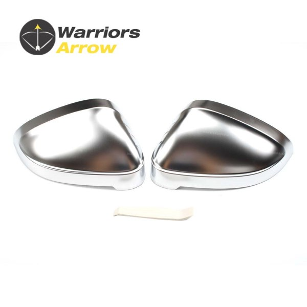 High Quality Pair Rearview Mirror Replacement Cover Cap For Audi A4 B9 A5 8W 2015 2016 2017