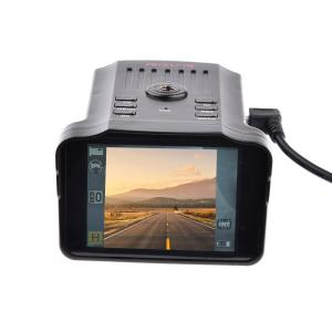 2-in-1 Car Radar Detectors DVR Recorder Russian Dedicated Voice Broadcast GPS Camera Dash Cam Fixed / Flow Velocity Measurement