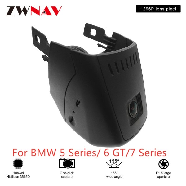 Hidden Type HD Driving recorder dedicated For BMW 5 Series/ 6 GT/7 Series DVR Dash cam Car front camera WIfi