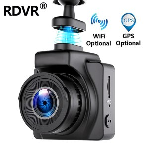 "RDVR Car DVR Magnetic Dash Cam Full HD1080P Car Camera 1.5"" Mini Dash Camera Auto Registrator Dvrs G-sensor WiFi GPS Optional"
