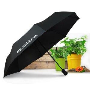 Car Automatic Umbrella For Audi Quattro A3 A4 B6 B8 B5 A6 C5 C6 Q7 Q5 TT A1 A5 A7 A8 R8 S3 S4 S5 S6 S7 S line RS Sticker