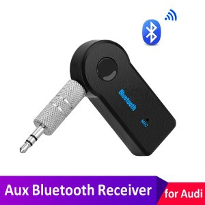 Car AUX Bluetooth Handsfree Receiver Adapter For Audi SLine A1 A3 A4 B6 B8 B5 B7 A5 A6 C5 C6 C7 A7 A8 TT Q3 Q5 Q7 80 Car Sticker