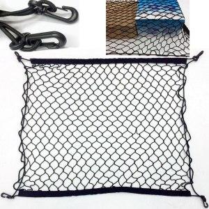 For Audi A3 A4 B6 B7 B8 A6 Q5 Q3 Auto Care Car Trunk Luggage Storage Cargo Organiser Nylon Elastic Mesh Net
