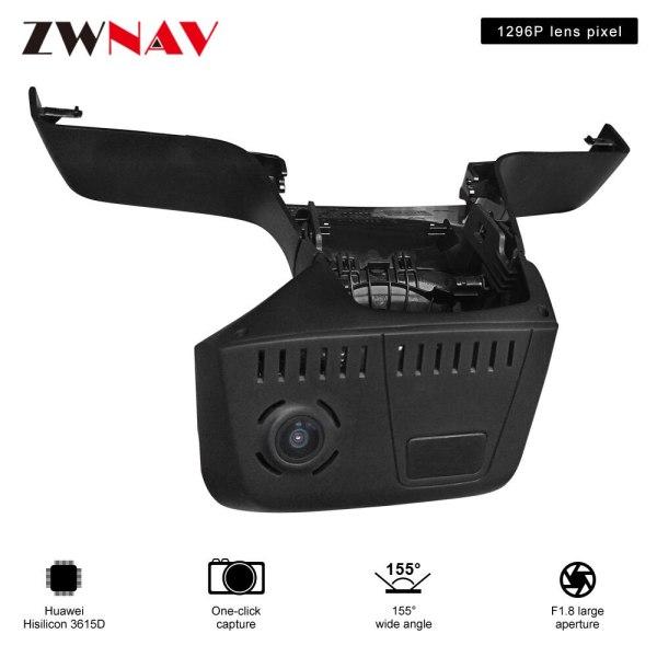 car recorder for BMW 5Series 2018-2019/BMW 7Series 2016-2018 dedicated Hidden Type Registrator Dash Cam DVR Camera WiFi 1080P