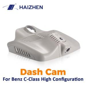 HAIZHEN Dash Cam Hidden Style 1080P HD Video Recorder 6-Lens 128G Dedicated Car DVR Camera for Benz C-Class High Configuration