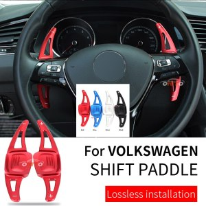 Good quality Car Steering Wheel Shift Paddle Shifter Extension for VW C-TREK TERAMONT TIGUAN L 2017-2019 PHIDEON CC car styling